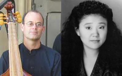 Farley Pearce, viola da gamba, Viennese bass  & Yuko Tanaka, forte piano
