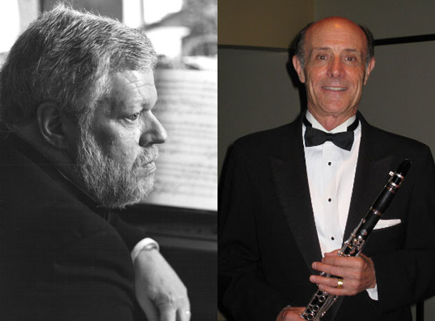 Tom Rose, clarinet & Miles Graber, piano