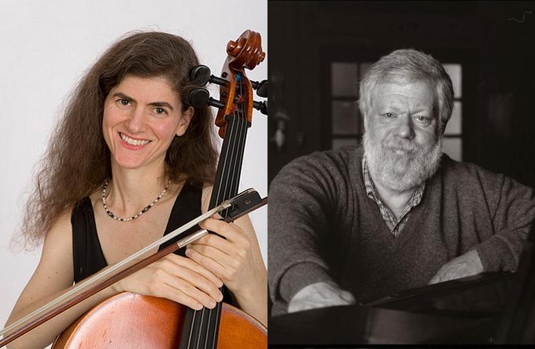 Mary Artmann, cello & Miles Graber, piano