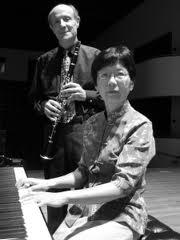 Tom Rose, clarinet & Betty Woo, piano