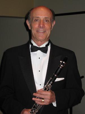 Tom Rose, clarinet