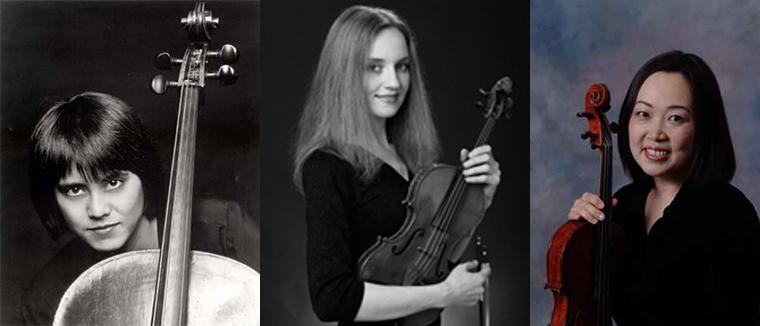 Mariya Borozina, violin / Caroline Lee, viola / Thalia Moore, cello
