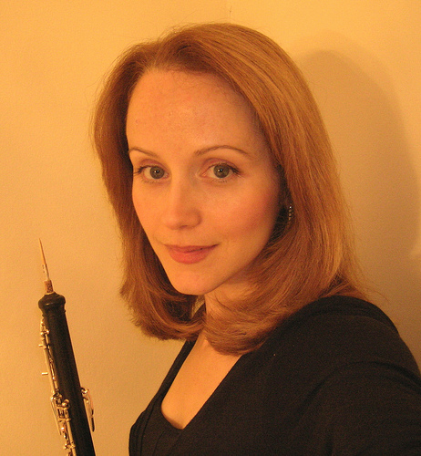 Laura Griffiths, oboe