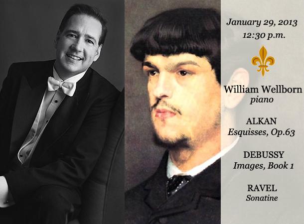 William Wellborn, piano