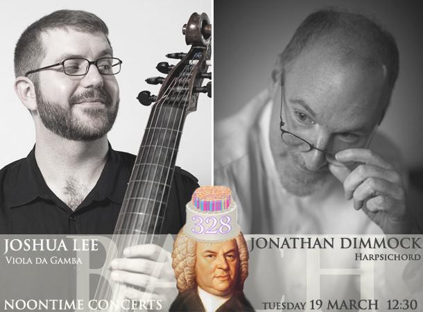 Jonathan Dimmock, harpsichord / Joshua Lee, viola da gamba