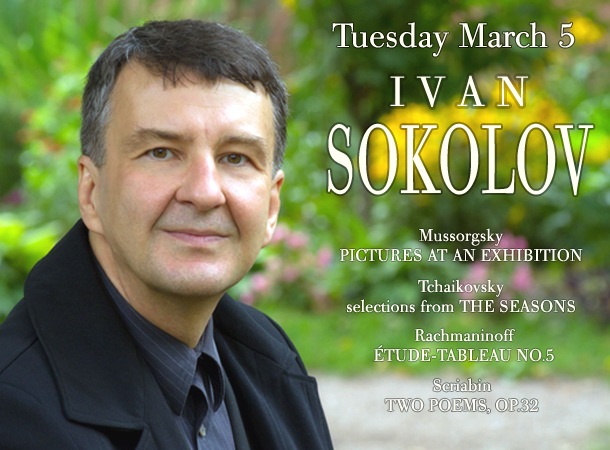 Ivan Sokolov, piano