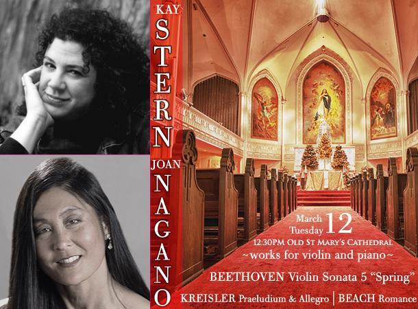 Kay Stern, violin / Joan Nagano, piano