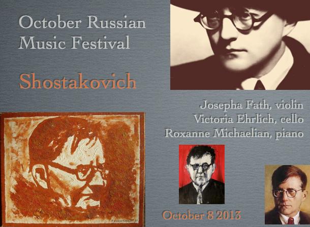Josepha Fath, violin / Victoria Ehrlich, cello / Roxanne Michaelian, piano