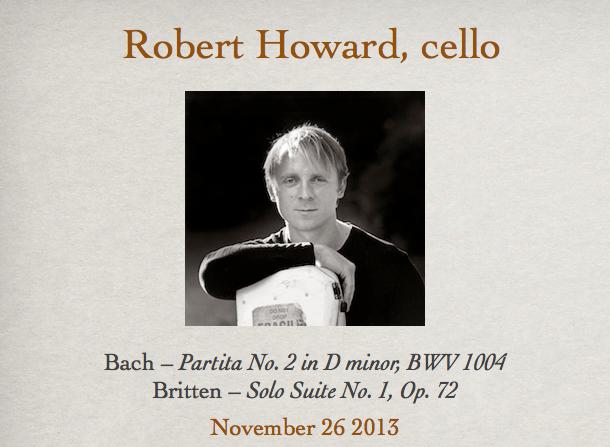 Robert Howard, cello