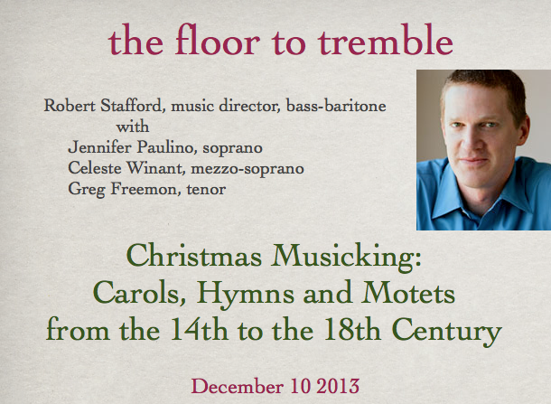 the floor to tremble