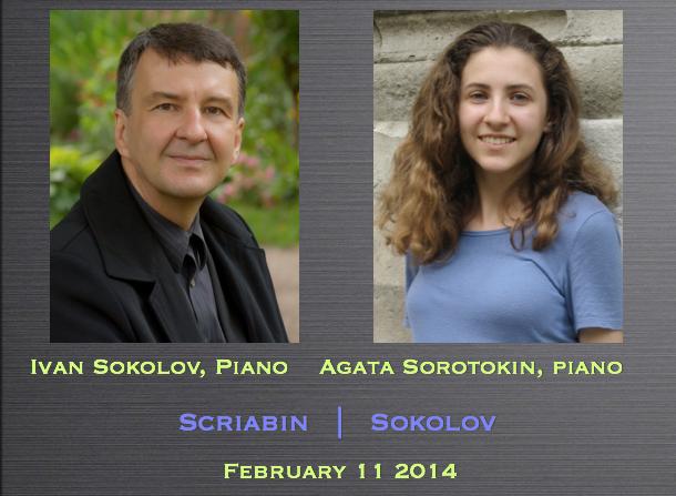 Ivan Sokolov, piano / Agata Sorotokin, piano