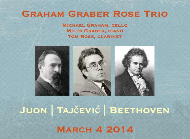 Graham Graber Rose Trio