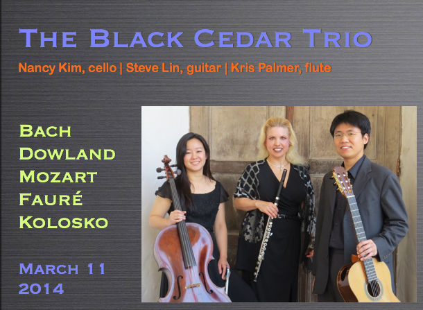 The Black Cedar Trio