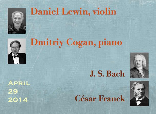 Daniel Lewin, violin / Dmitriy Cogan, piano