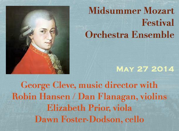Midsummer Mozart Festival Orchestra Ensemble