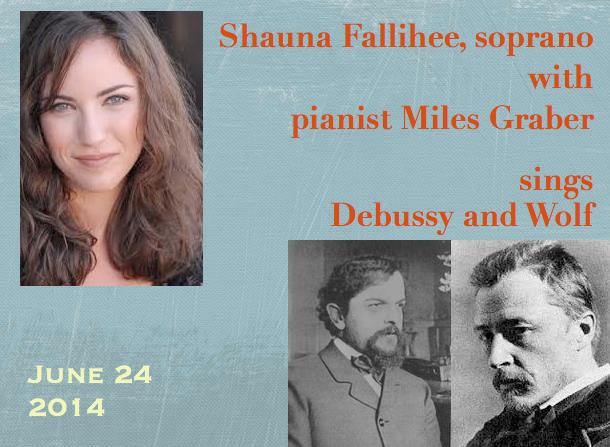 Shauna Fallihee, soprano / Miles Graber, piano