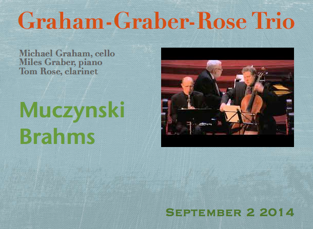 Graham-Graber-Rose Trio