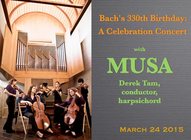 MUSA – Bach Celebration