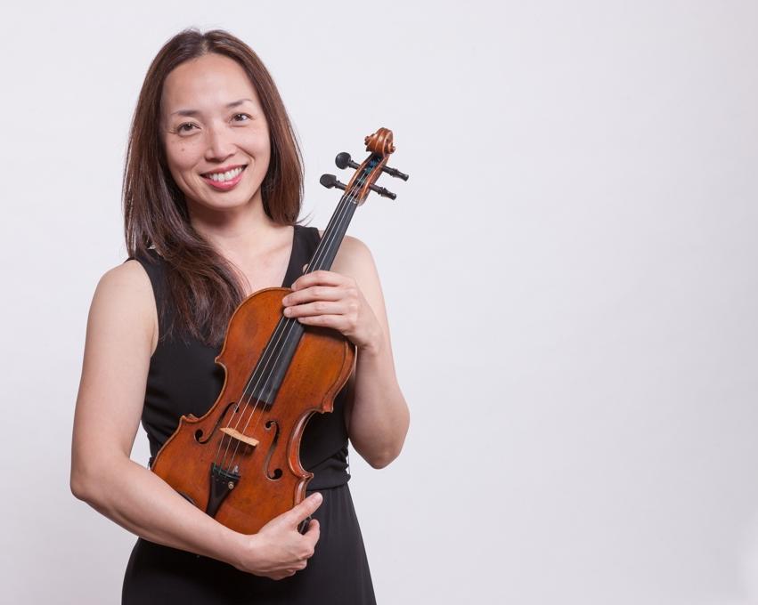 Christina Mok, violin / Miles Graber, piano