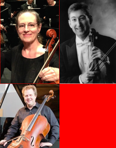 Randall Weiss, violin / Patricia Whaley, viola / Michael Graham, cello