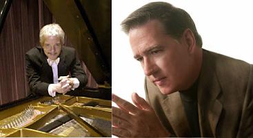William Wellborn and Michael Boyd, piano