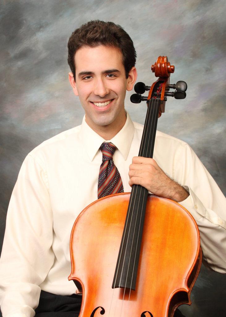 Isaac Pastor-Chermak, cello
