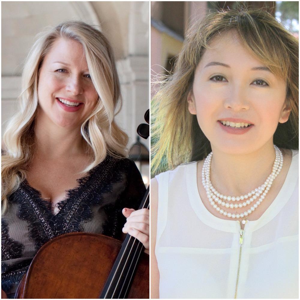 Jennifer Kloetzel, cello  Tamami Honma, piano