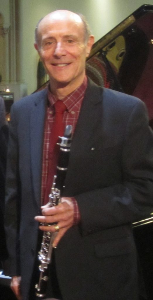 Tom Rose, clarinet