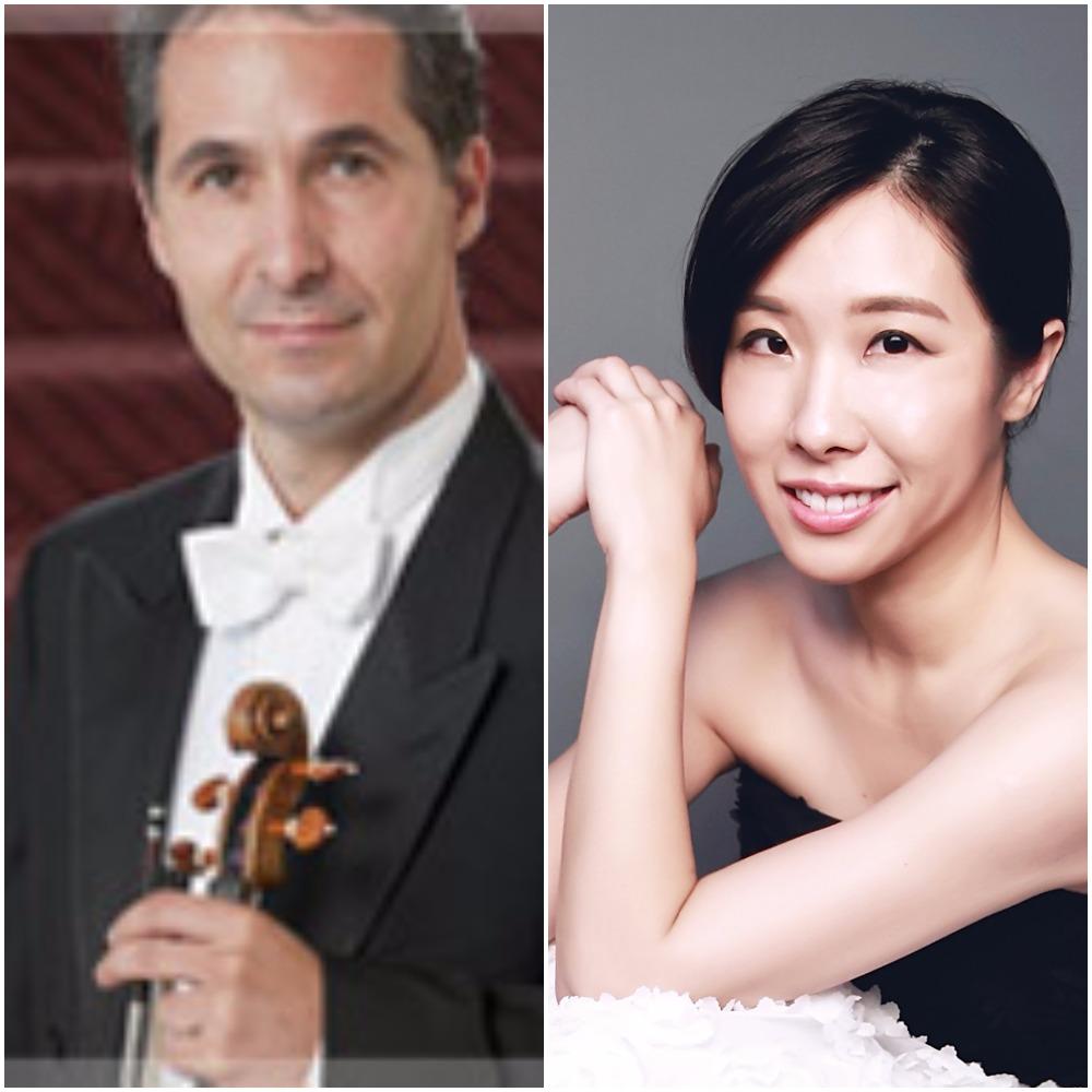 Florin Parvulescu, Violin; Chia-Lin Yang, Piano