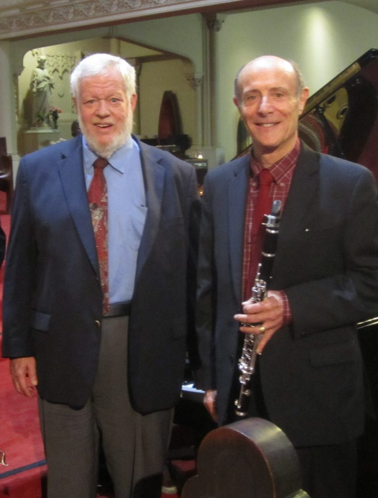 Tom Rose, Clarinet and Miles Graber, Piano