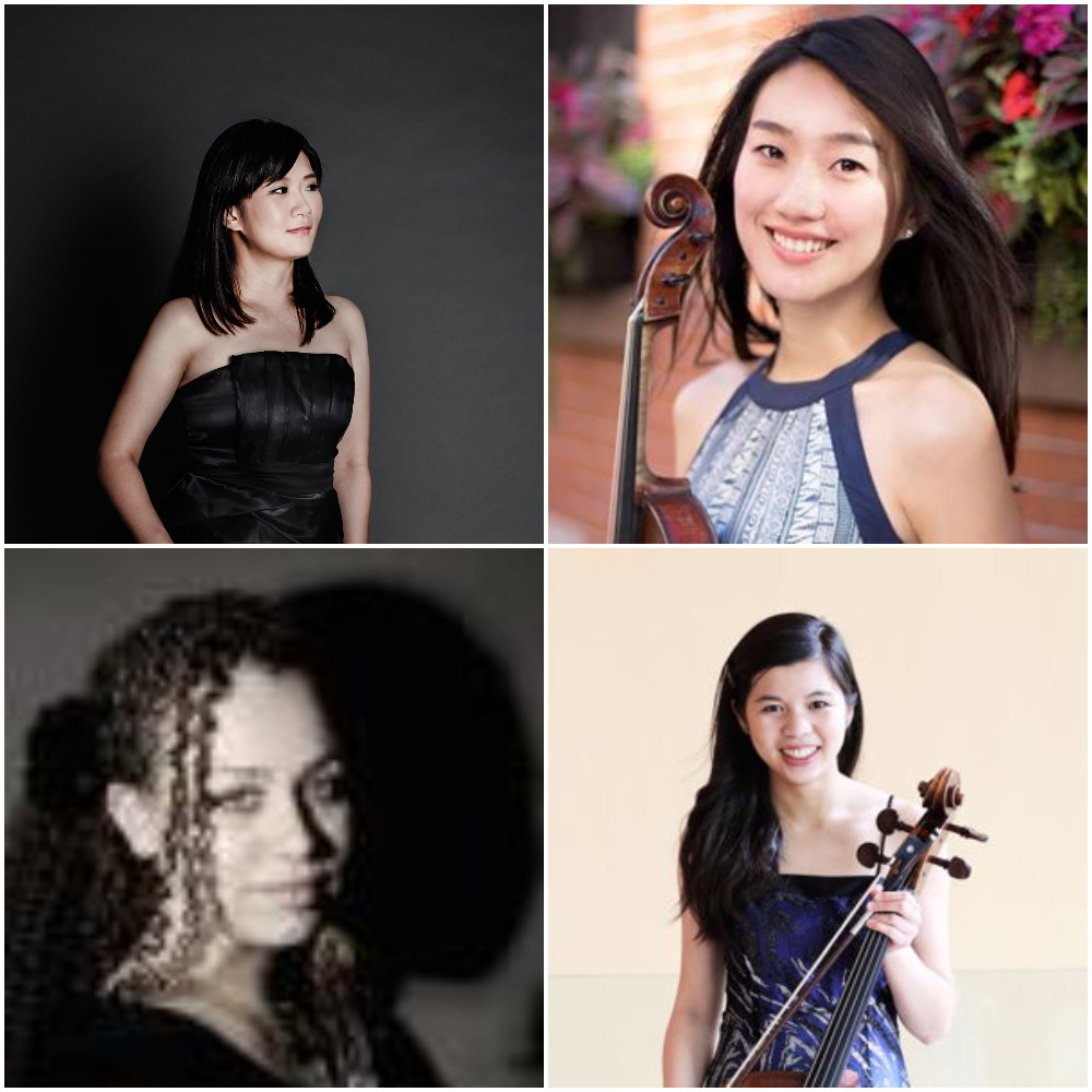 Shelby Yamin, Violin; Lena Tzu-Hui Ho, Viola; Stephanie Tsai, Cello; Yi-Fang Wu, Piano