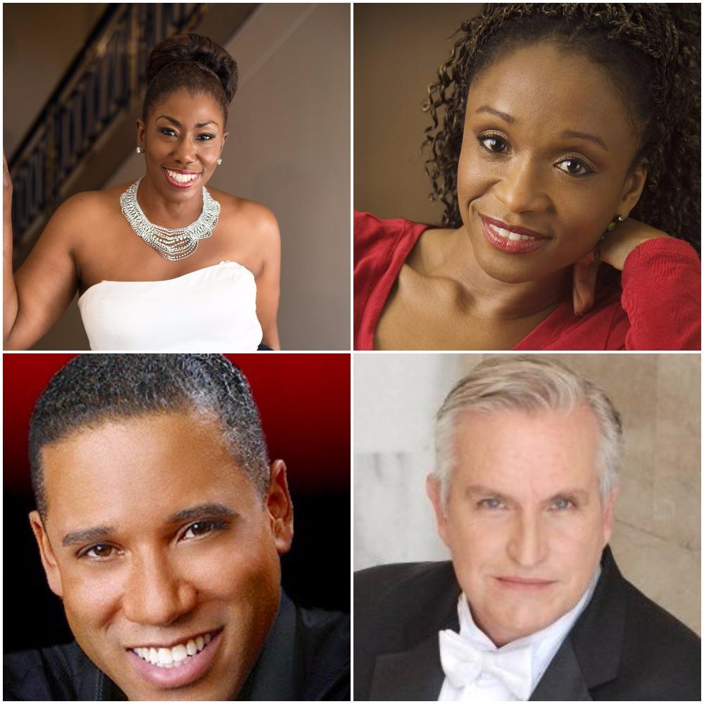 Hope Briggs and Shawnette Sulker, Sopranos; Robert Sims, Lyric Baritone; Daniel Lockert, Piano