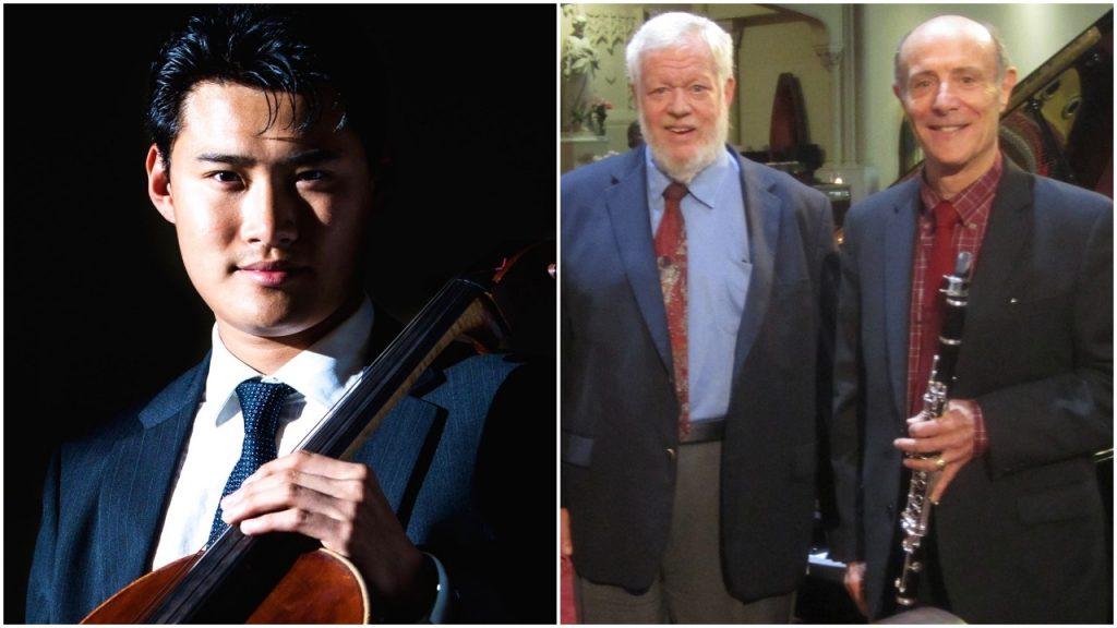 Jonah Kim, Cello; Tom Rose, Clarinet; Miles Graber, Piano