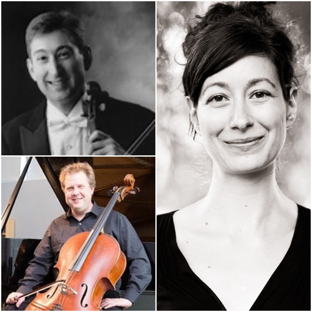 Randall Weiss, violin; Michael Graham, cello; Amy Zanrosso, piano
