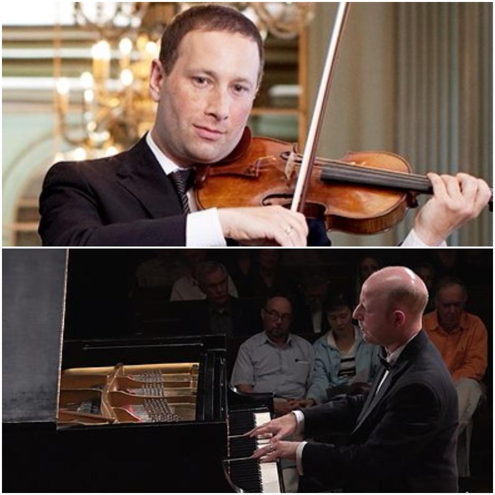 Tom Stone, Violin and Jeffrey LaDeur, Piano