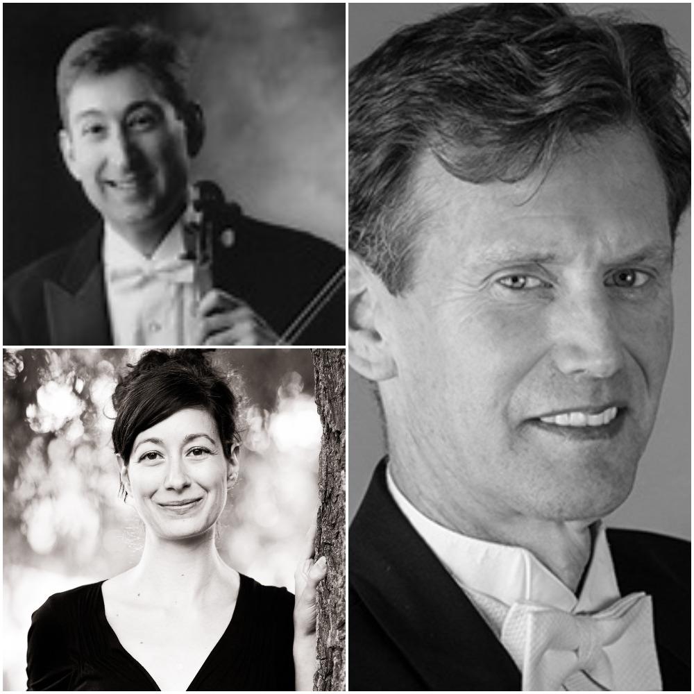 Randall Weiss, Violin; Daniel Reinker, Viola; Amy Zanrosso, Piano
