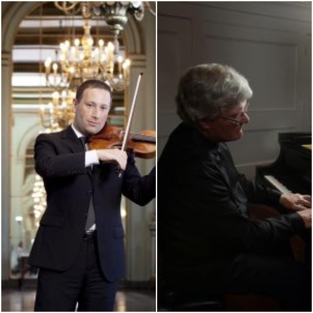 Tom Stone, Violin and Marc Ryser, Piano
