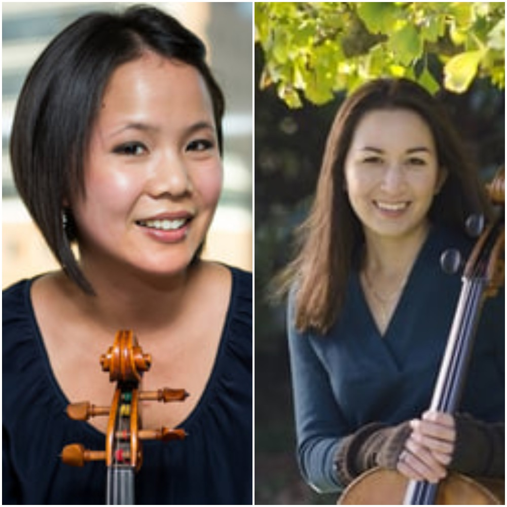 Jessica Chang, Viola Laura Gaynon, Cello