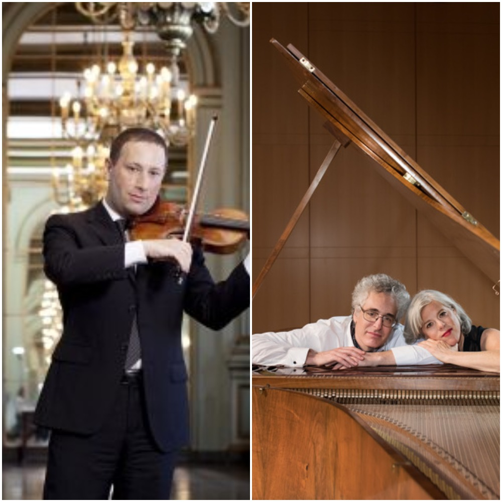 Tom Stone, Violin; Tanya Tomkins, Cello; Eric Zivian, Piano