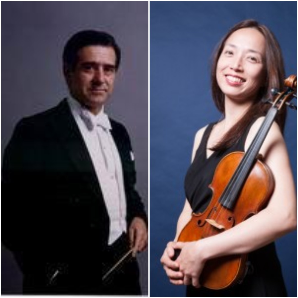 Christina Mok, Violin and Max Bragado-Darman, Piano