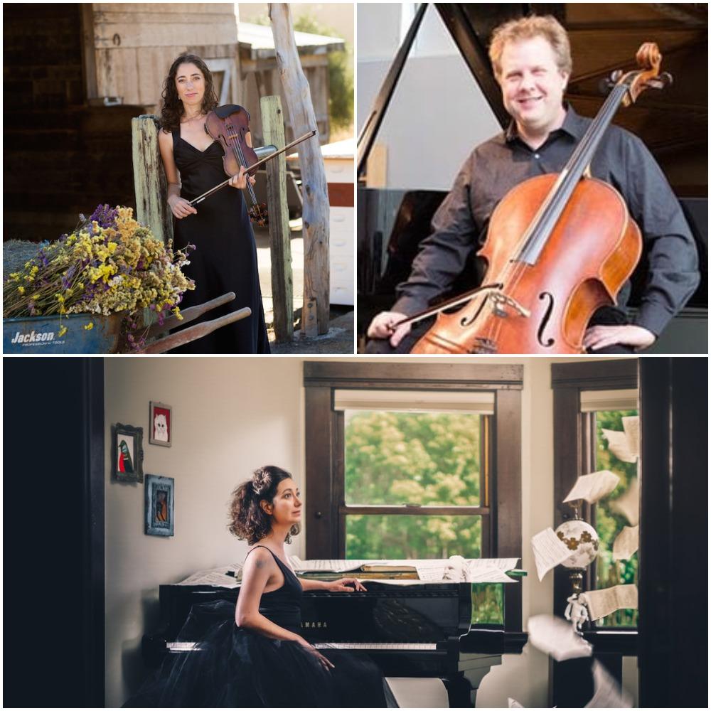 Alisa Rose, Violin; Michael Graham, Cello; Amy Zanrosso, Piano