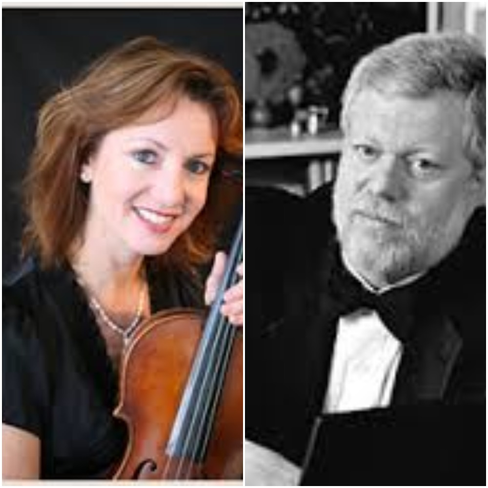 Elizabeth Prior, Viola and Miles Graber, Piano