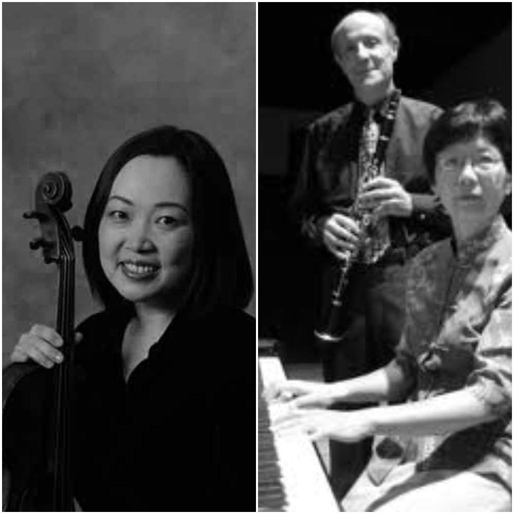 Tom Rose, Clarinet; Caroline Lee, Viola; Betty Woo, Piano