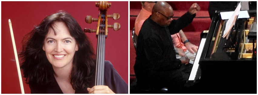 Kim Cook, Cello and Carl Blake, Piano