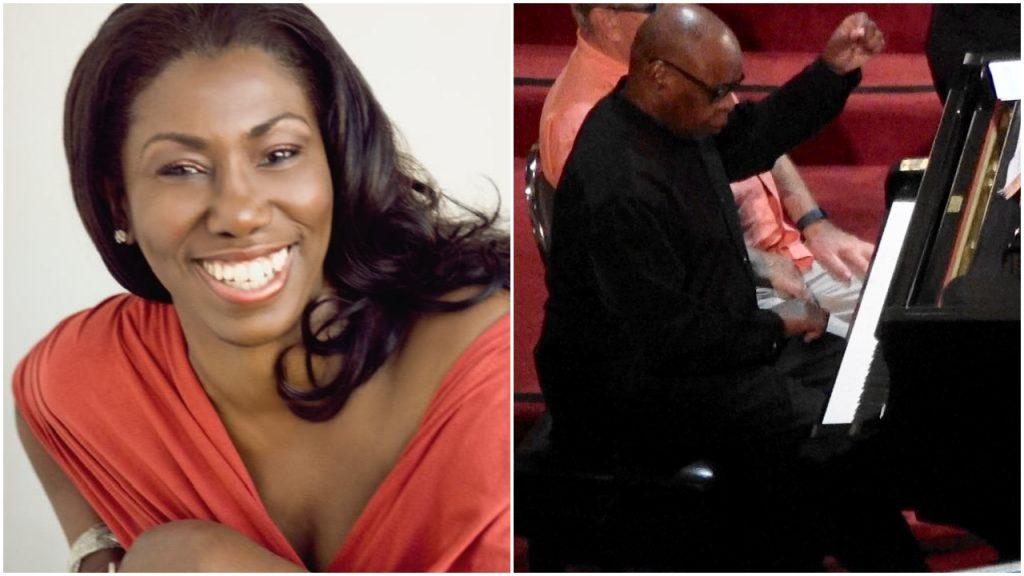 Hope Briggs, Soprano Carl Blake, Piano