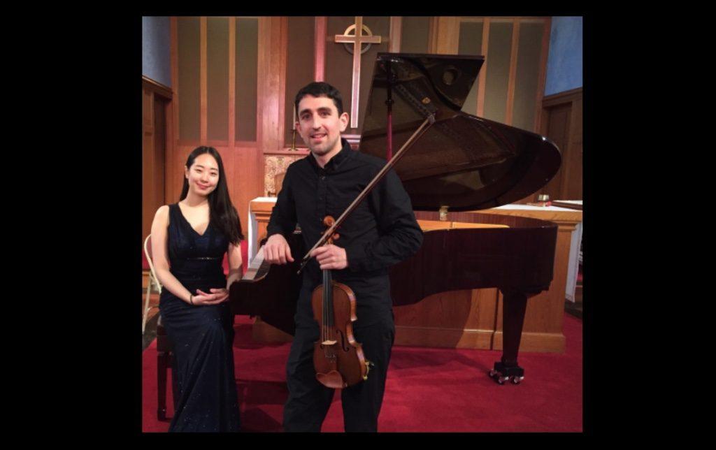 Patrick Galvin, Violin Jung-eun Kim, Piano