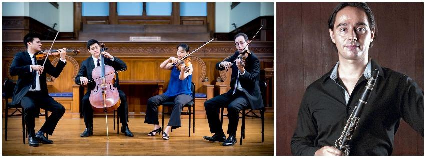Telegraph Quartet with Marco Bonfigli, Clarinet