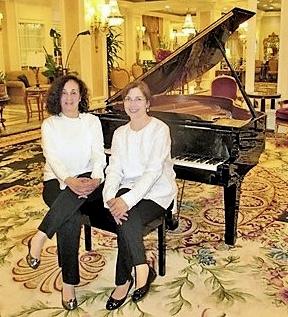 Mirta Gomez and Sahily Canovas, Piano