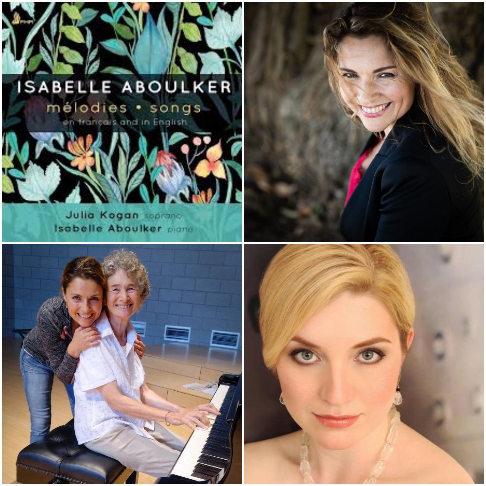Julia Kogan, Soprano and Maureen Zoltek, Piano