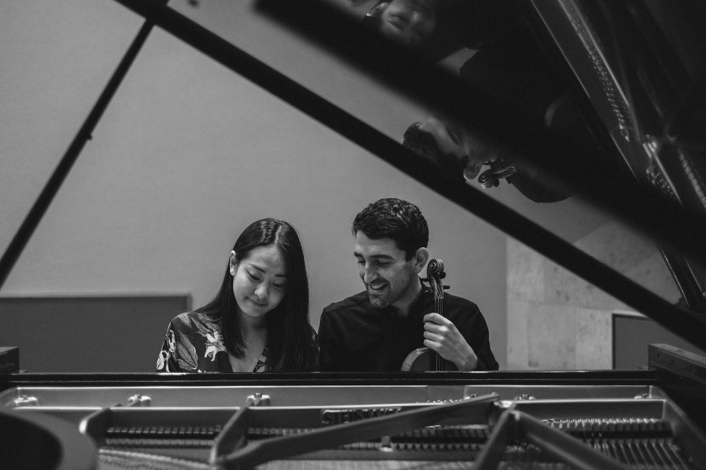 Jung-eun Kim and Patrick Galvin Duo